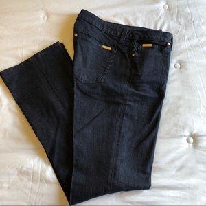 Denim - Iman dress jeans dark . Size 10.